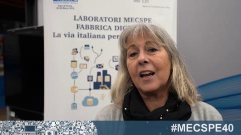 Embedded thumbnail for LABORATORI MECSPE FABBRICA DIGITALE, La via italiana per l'industria 4.0